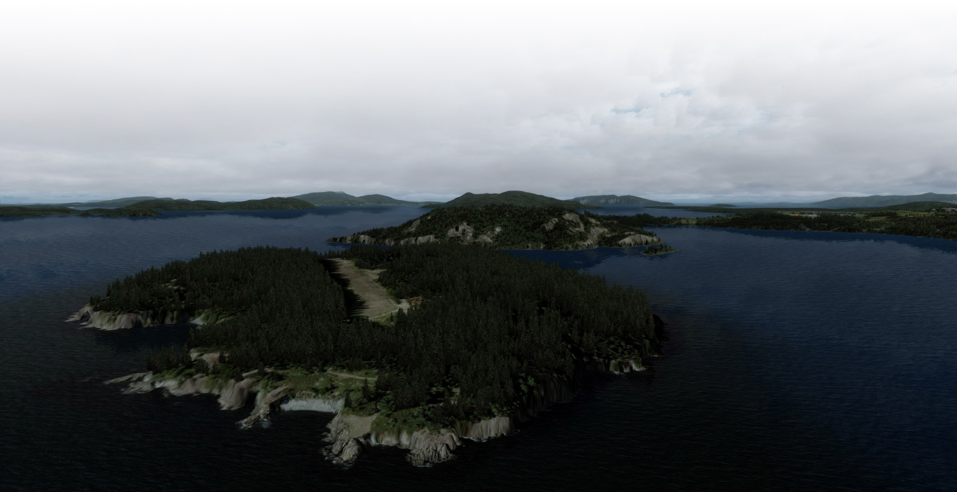Allan Island for FSX and P3D