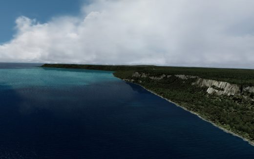 Emerald Scenery Design 3m terrain mesh for the island of Guam. Including 10m terrain mesh for the Northern Mariana Islands. Updated to SP1.