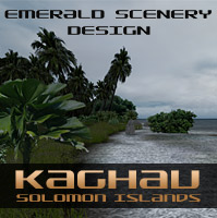 Emerald Scenery Design Kaghau Airport, Solomon Islands product image