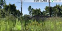 Bear Island, Florida v2.0 - Vegetation with house in background