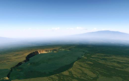 Hawaii 10 meter Terrain Mesh v2 for FSX and P3D