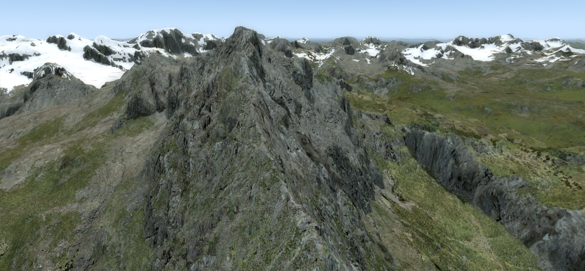 The Alaskan Mesh Project: SAK for FSX and P3D