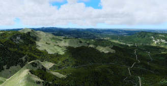 Puerto Rico and US Virgin Islands 10-meter terrain mesh for fsx and p3d