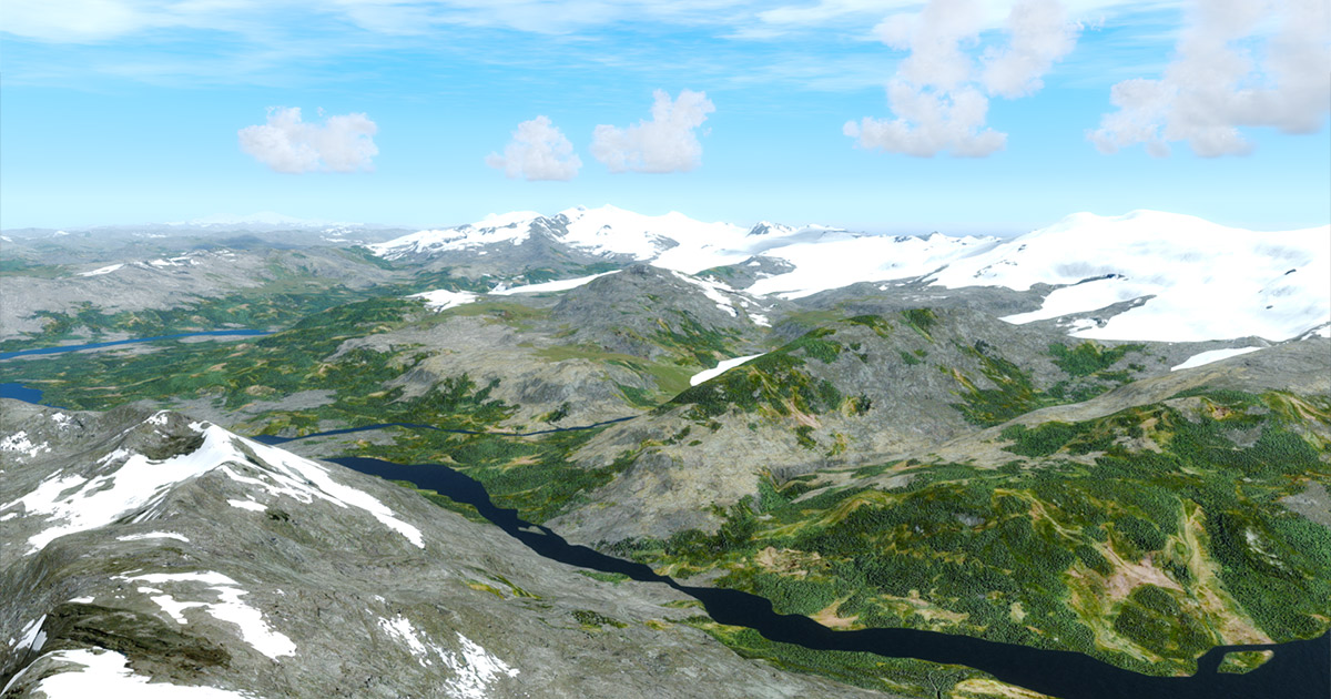 Alaskan Mesh Project: Southwest for FSX and P3D